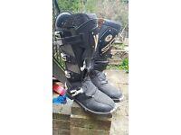 Sidi Vortex road race boot size 10.5 uk