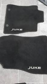 Nissan Juke car mats full set