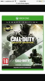 Call of duty infinity legacy edition £65 brand new