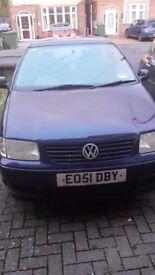 Volkswagen Polo , 2001, three door, petrol, blue