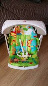 Fisher Price Rainforest Swing and and Seat