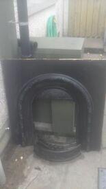 18 inch cast iron inset