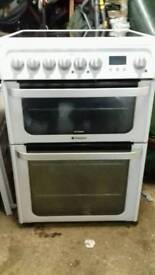 hotpoint 60 cm electric cooker free nn delivery 3 months warranty