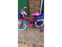 Puppy 14 inch Girls Bike