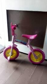 """10"""" Peppa pig bike"""
