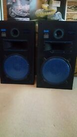 Realistic PRO - 2 250w 3-Way Disco Speakers