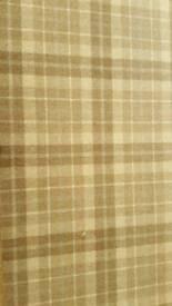 Tartan Patterned Carpet
