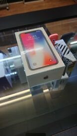 New Sealed IPHONE X Grey 64GB