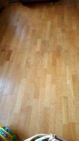 Used oak engineered flooring