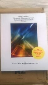 Strategic Management of Technological Innovation Fourth Edition BRAND NEW