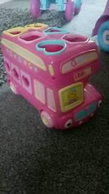 Girls Shape Sorter Bus