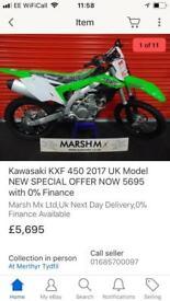 2017 Kawasaki kxf450