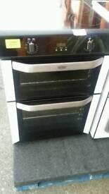 Belling black brand new induction hob cooker