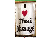 Relaxing massage by qualified young Thai lady
