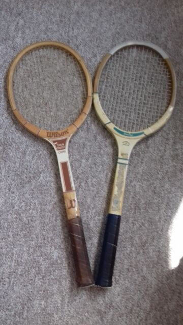 buy online e4480 11ba3 Vintage Wooden Tennis Racquets Wilson – Stan Smith & Dunlop Alpha – Strong  or used as ornament | in Dorchester, Dorset | Gumtree