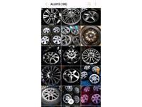 alloy wheels 5x110 5x108 4x100 4x108 jag vw vauxhall astra van corsa look