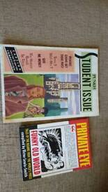 Punch 1987 and private eye1996