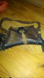 Ladies leather bag as new
