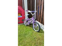 """Girls 16 """" bike in excellent condition can diliver for a small"""