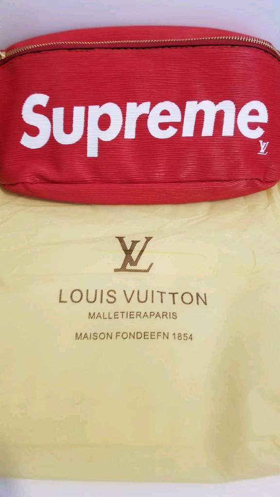 2ee6b7572e2f LV supreme bum bag