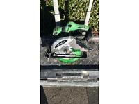 Hitachi cordless impactor, grinder, circular, jigsaw, combi, torch and reciprocateing saw