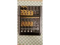 6 Channel mixer - Tapco blend 6