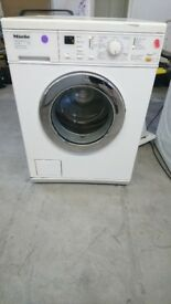 Miele washing machine white