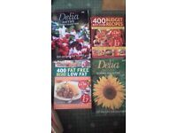 4 Cook books , 2 by Delia + 2 others