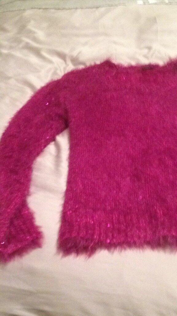 Ladies pink jumper brand new