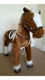 Kids Giant Plush Horse Immaculate