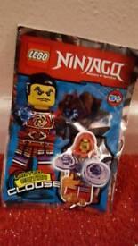Lego bnib limited edition poly bag ninjago clouse mini figure