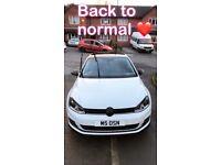 volkswagen golf 1.4 tsi Manual 2015 plate