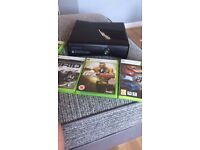 Xbox360 with 10 games