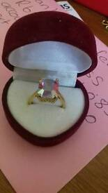 9ct gold ring changes colour