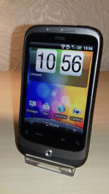 HTC Wildfire - Unlocked - Good Condition + Charger