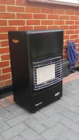 Bosch superser gas fire with gas bottle exellent condition