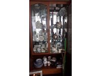 Lovely display cabinet with lights