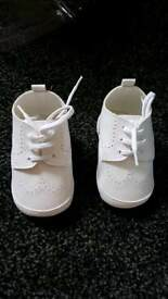 Boys 6-9 months wedding/christening shoes