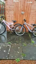 2 girl/women bikes