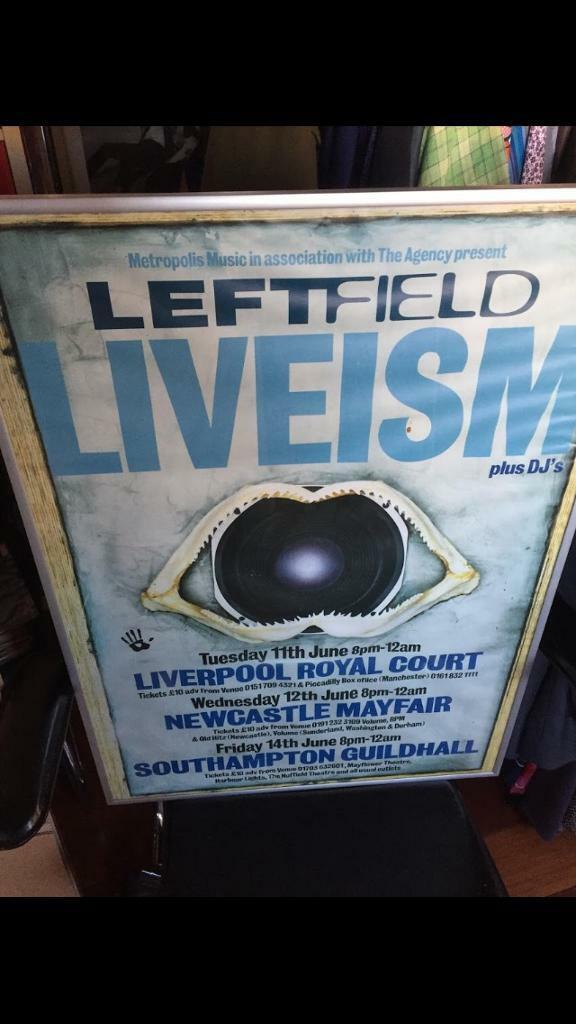 Original music posters framed professional frames all from Southampton  guildhall | in Dibden Purlieu, Hampshire | Gumtree