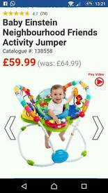 Baby Einstein jumper gym