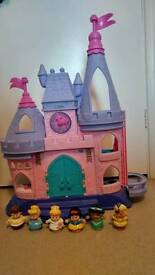 Fisher Price Little People Disney Princess Palace and characters