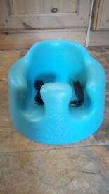 Bumbo Baby Seat with Harness, Blue