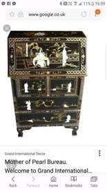 Stunning oriental style bureau for.sale