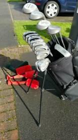 Powerbilt Golf Set and Bag