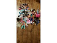 Massive bundle of Barbie/Cindy/Monster High / My Little pony equestrian etc