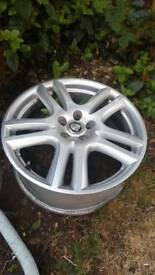 "Jaguar spare wheels 2x17"" with tyres and 2x18"" no tyres"