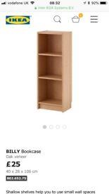 Ikea Billy Bookcase x2 £15 pair £10 each