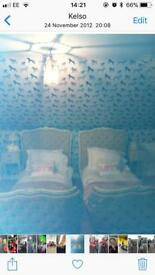 Antique French single beds
