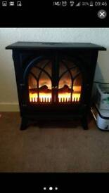 Electric imatation fire place